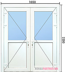 Недорогие двери ПВХ