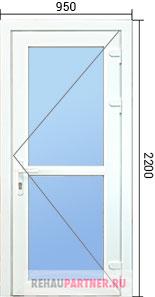 Цена на алюминиевые двери
