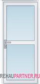 Стеклянные двери из алюминия