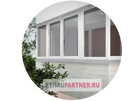 Балкон 11-12 метров