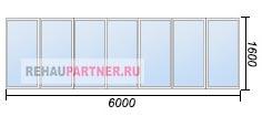 Сколько стоит остеклить балкон или лоджию 6 метров