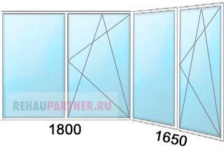 Цена на балконные пластиковые окна