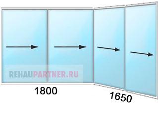 Купить балконные окна