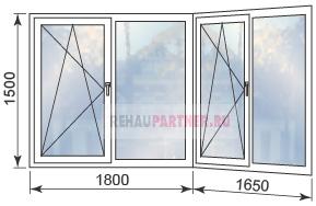 Цены на остекление лоджии пластиковыми окнами в Москве