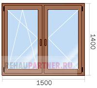 Цены на деревянные окна в Москве