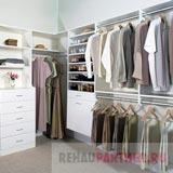 Двери на рельсах для гардеробной