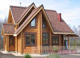 Евроокна в деревянном доме