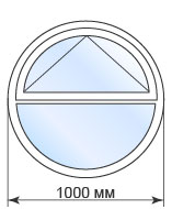Купить круглое окно