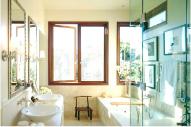 Непрозрачные окна для ванной