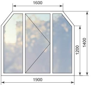 Цена на шестиугольное окно