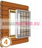 Вставить окна в деревянном доме