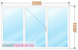 Цена на пластиковые окна с монтажом
