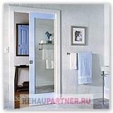 Навесные двери в ванную
