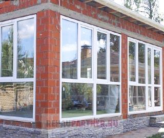 Пластиковые окна для террасы