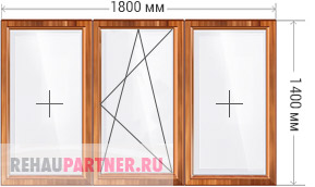 Окна из лиственницы цена