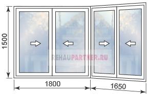 Стоимость пластиковых окон на балкон