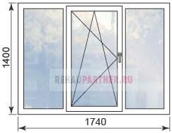 Цены на окна в домах П-3
