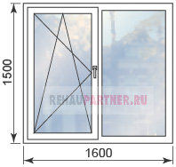 Цены на ПВХ окна от производителя в Москве