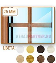 Шпросы на окнах 26 мм