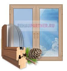 Деревянные окна в Мытищах