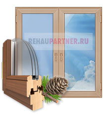 Деревянные окна в Одинцово