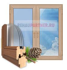 Деревянные окна в Протвино