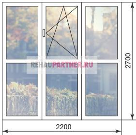 Цена на панорамные окна для частного дома