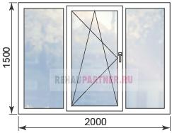 Цены на окна с противовзломной фурнитурой