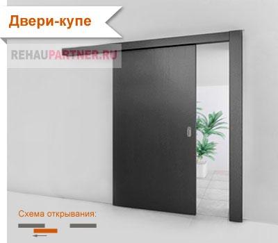 Стеклянные раздвижные двери для кухни
