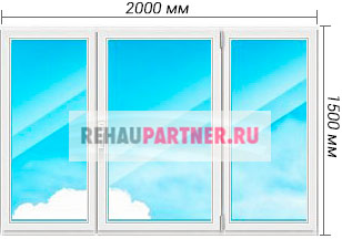 Купить окна Rehau Brillant Design