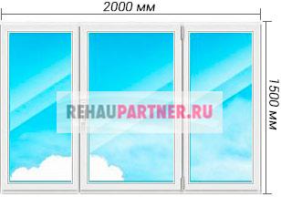 Цена на окна Рехау Экселент