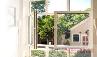 Окно со штульповым открыванием