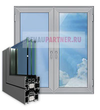 Штульповые алюминиевые окна