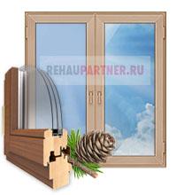 Штульповые деревянные окна