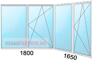 Цены на пластиковое остекление балконов