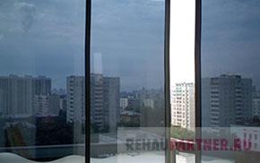 Окна с зеркальным покрытием